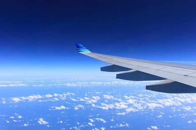 Billigflieger in Urlaub